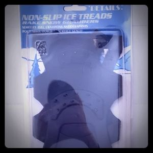 Non slip ice treads. New in package. Large